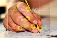 Homework time Royalty Free Stock Photography