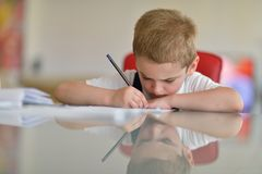 Homework Royalty Free Stock Images