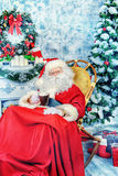 Homey Santa Stock Images