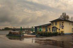 Homiel', Bielorussia - 1° maggio 2013: CAFFÈ ANTIVARI NEMO Centro di spettacolo immagine stock