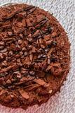 Hommade Chocolate Cake Stock Photos