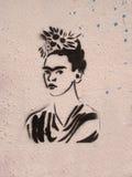 Hommage à Frida Kahlo Photos libres de droits