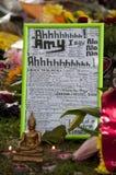 Hommage à l'ami Winehouse Photographie stock