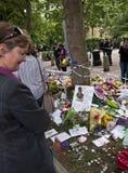 Hommage à l'ami Winehouse Image libre de droits