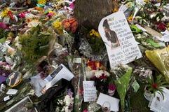 Hommage à l'ami Winehouse Photos stock
