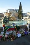 Hommage à Nelson Mandela Photo stock