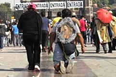 Hommage à notre Madame de Guadalupe Image stock