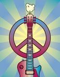 Hommage à Woodstock Images libres de droits