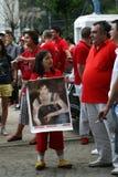 Hommage de danse de Michael Jackson Photographie stock