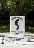 Hommage de Michael Jackson Image libre de droits