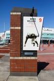 Hommage de nombre retiré par Mario Williams de NCSU images stock