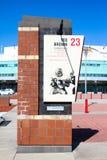 Hommage de nombre retiré par Ted Brown de NCSU photos libres de droits