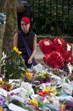 Hommage à l'ami Winehouse Photo libre de droits