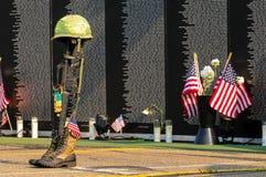 Hommage tombé de soldat images libres de droits