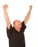 Homme âgé moyen heureux Photographie stock