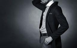 Homme élégant Photographie stock libre de droits