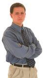 Homme #09 d'affaires Photo libre de droits