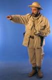 Homme 2 de safari Photo libre de droits