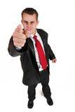 Homme #28 d'affaires Image libre de droits