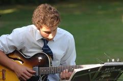 Homme 4 de musique Photo libre de droits