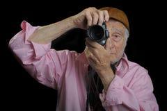 Homme aîné Photographie stock libre de droits