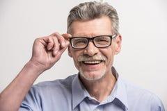 Homme aîné Photos stock