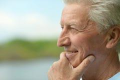 Homme aîné attirant Photographie stock libre de droits