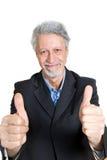Homme aîné d'affaires Images libres de droits