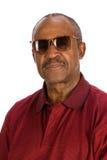 Homme aîné d'Afro-américain. Photographie stock libre de droits