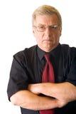 Homme aîné d'isolement d'affaires Photo libre de droits