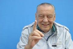 Homme aîné du numéro 1 photographie stock