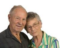Homme aîné et femme Images stock