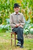 Homme aîné extérieur Photo libre de droits