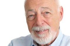 Homme aîné - faisant confiance photo libre de droits