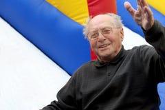 Homme aîné heureux Images libres de droits