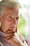 Homme aîné sérieux Image libre de droits