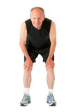 Homme aîné sportif Image stock
