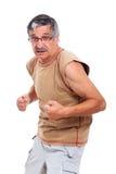 Homme aîné sportif confiant Photo libre de droits