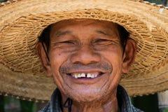 Homme adulte supérieur asiatique Photo stock