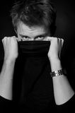 Homme anonyme Image stock