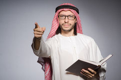 Homme arabe Photo stock
