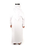 Homme arabe d'isolement, photo stock