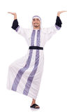 Homme arabe d'isolement Image stock