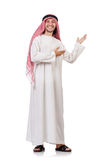 Homme arabe d'isolement Photo stock