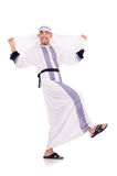 Homme arabe d'isolement Photographie stock