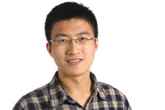 Homme asiatique photographie stock libre de droits