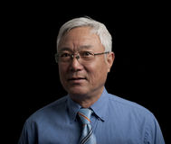 Homme asiatique aîné Photos libres de droits