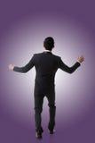Homme asiatique d'affaires étonné image libre de droits