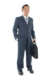 Homme asiatique d'affaires images stock