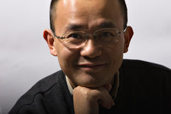 Homme asiatique de mi-adulte Images libres de droits